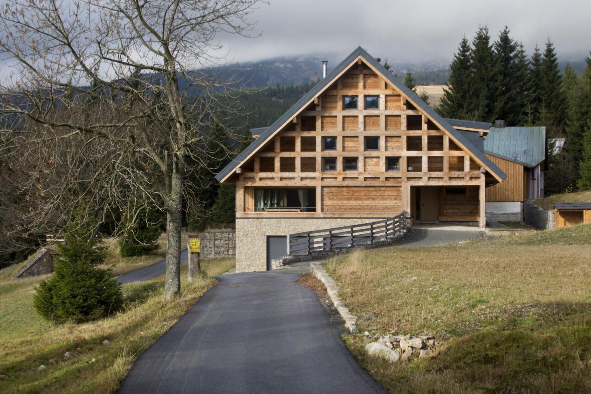 Horská chata v Krkonoších (A69 – architekti)