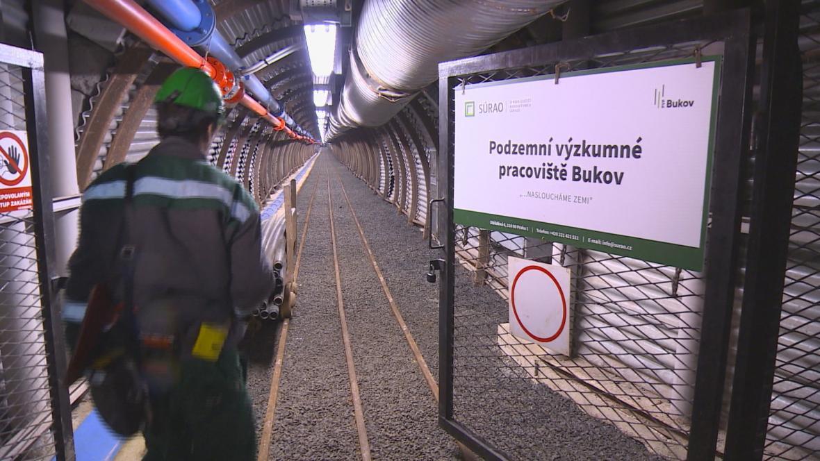 Podzemní laboratoř u obce Bukov na Žďářsku.