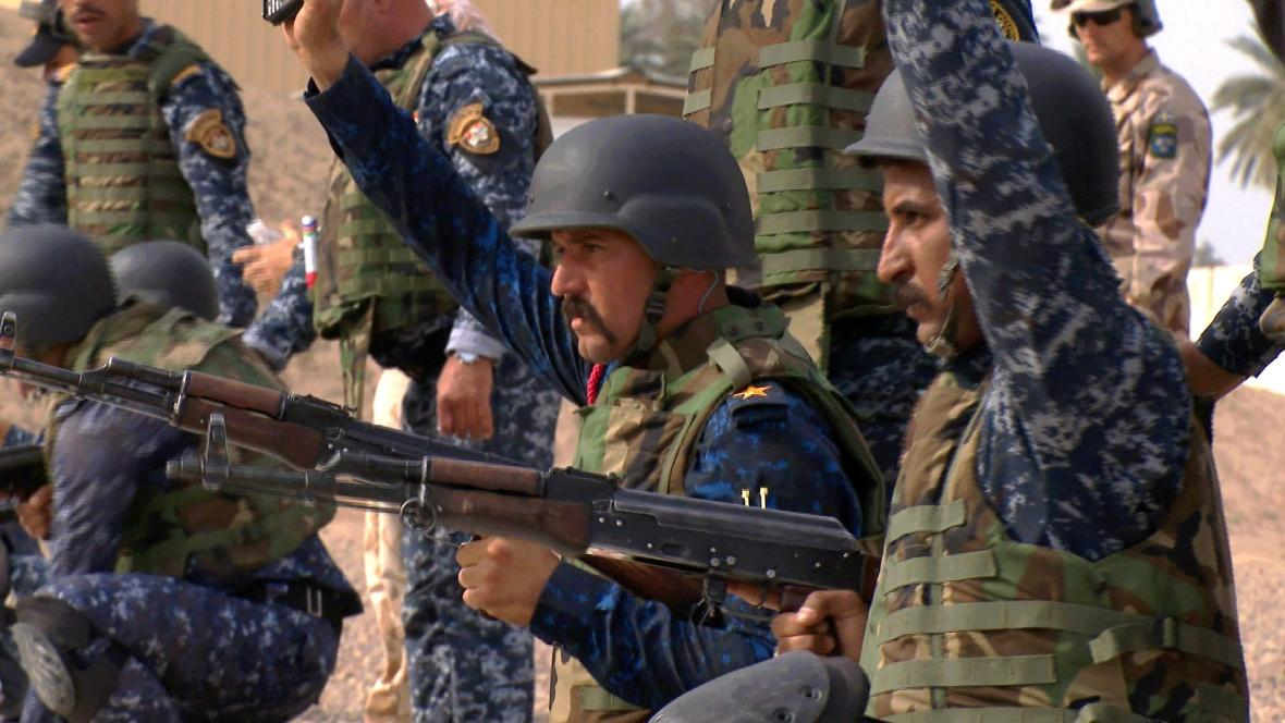 Výcvik Iráčanů