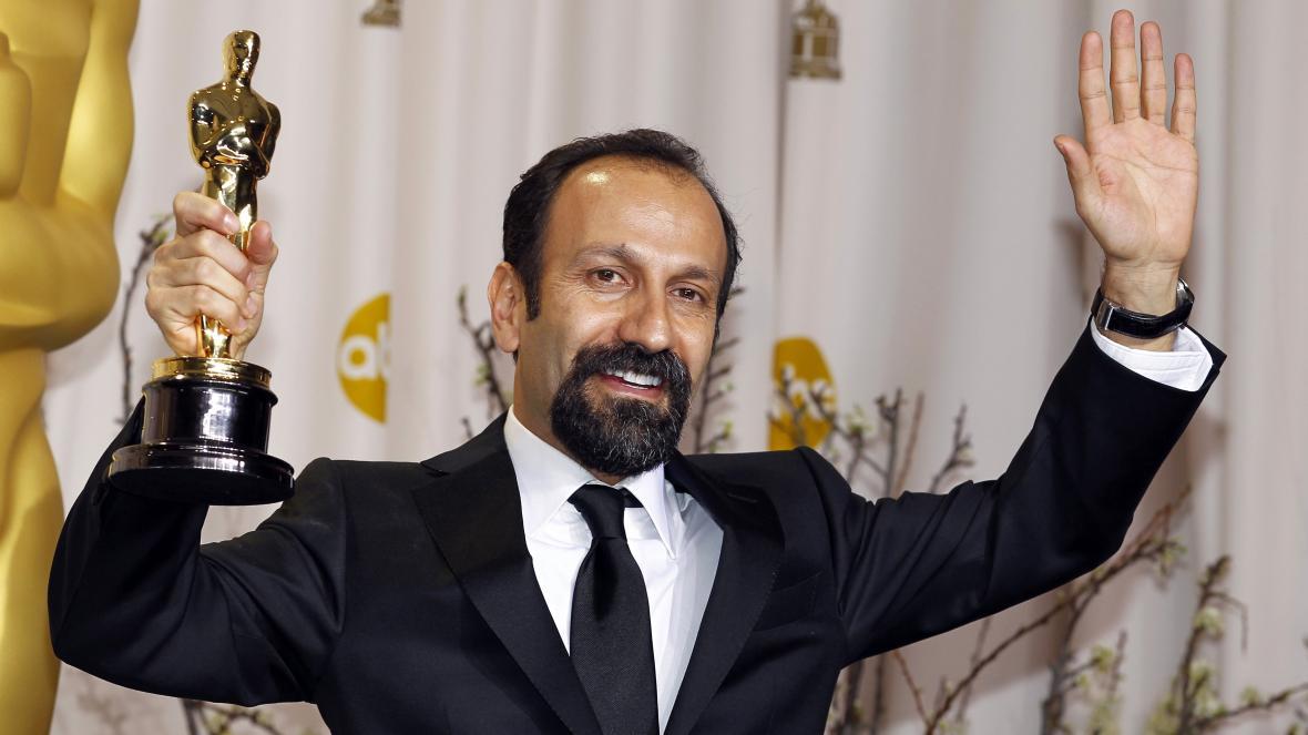 Asghar Farhadi po získání Oscara pro film Rozchod Nadera a Simin