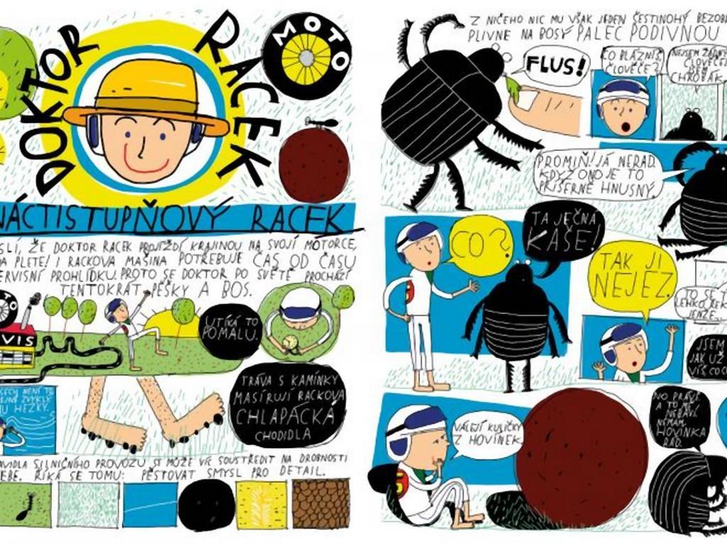 Raketa - ilustrace z legendárního dětského časopisu