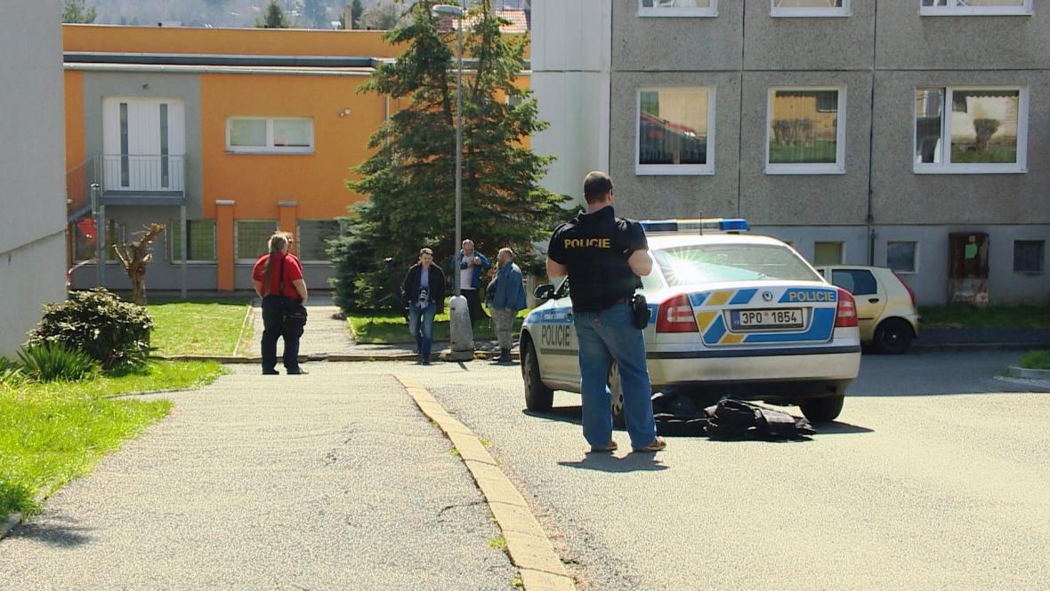 Střelba v azylovém domě v Domažlicích