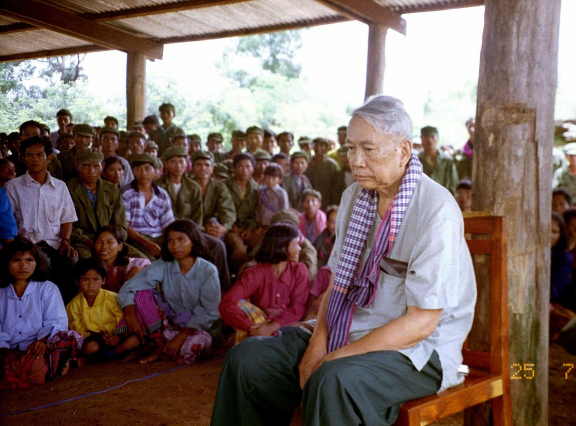 Proces s Pol Potem vedli v roce 1997 samotní Rudí Khmerové