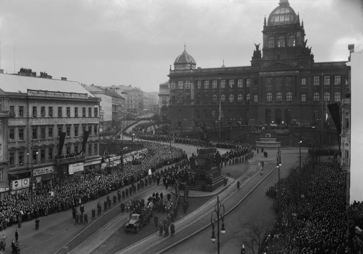 Pohřeb Jana Masaryka (13. března 1948)