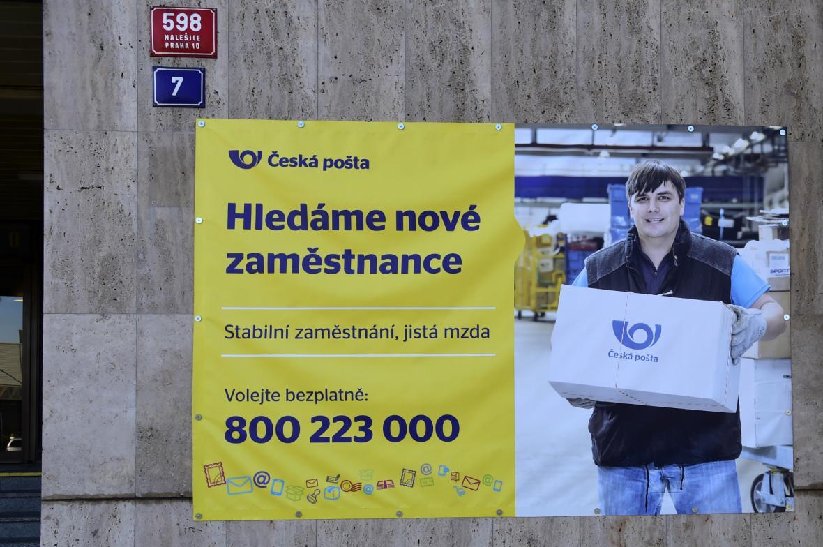 Česká pošta hledá zaměstnance