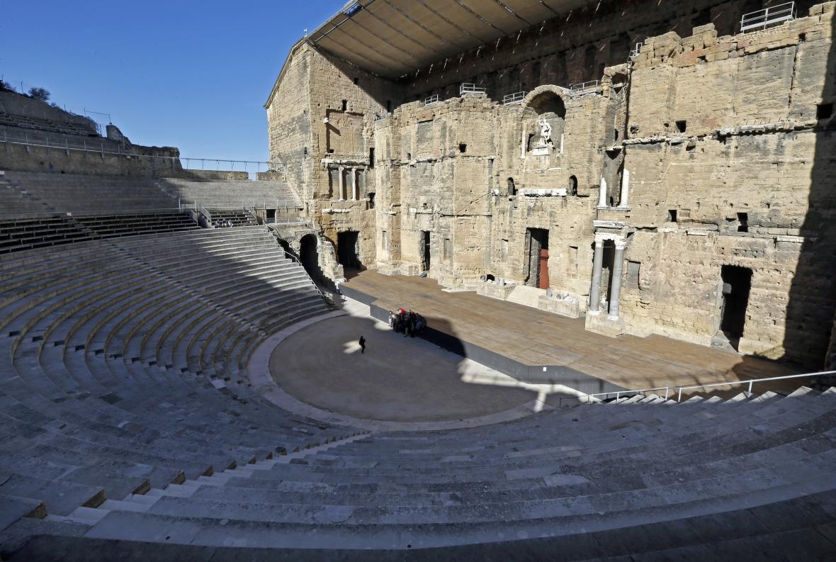 Římský amfiteátr ve francouzském Orange
