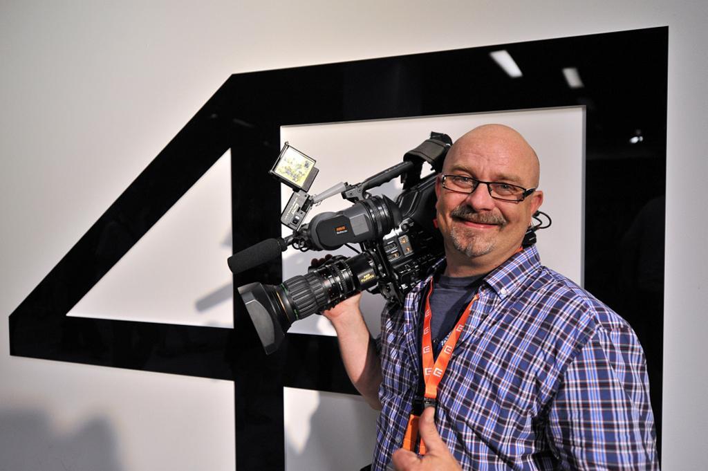 Kameraman Jiří Venclík