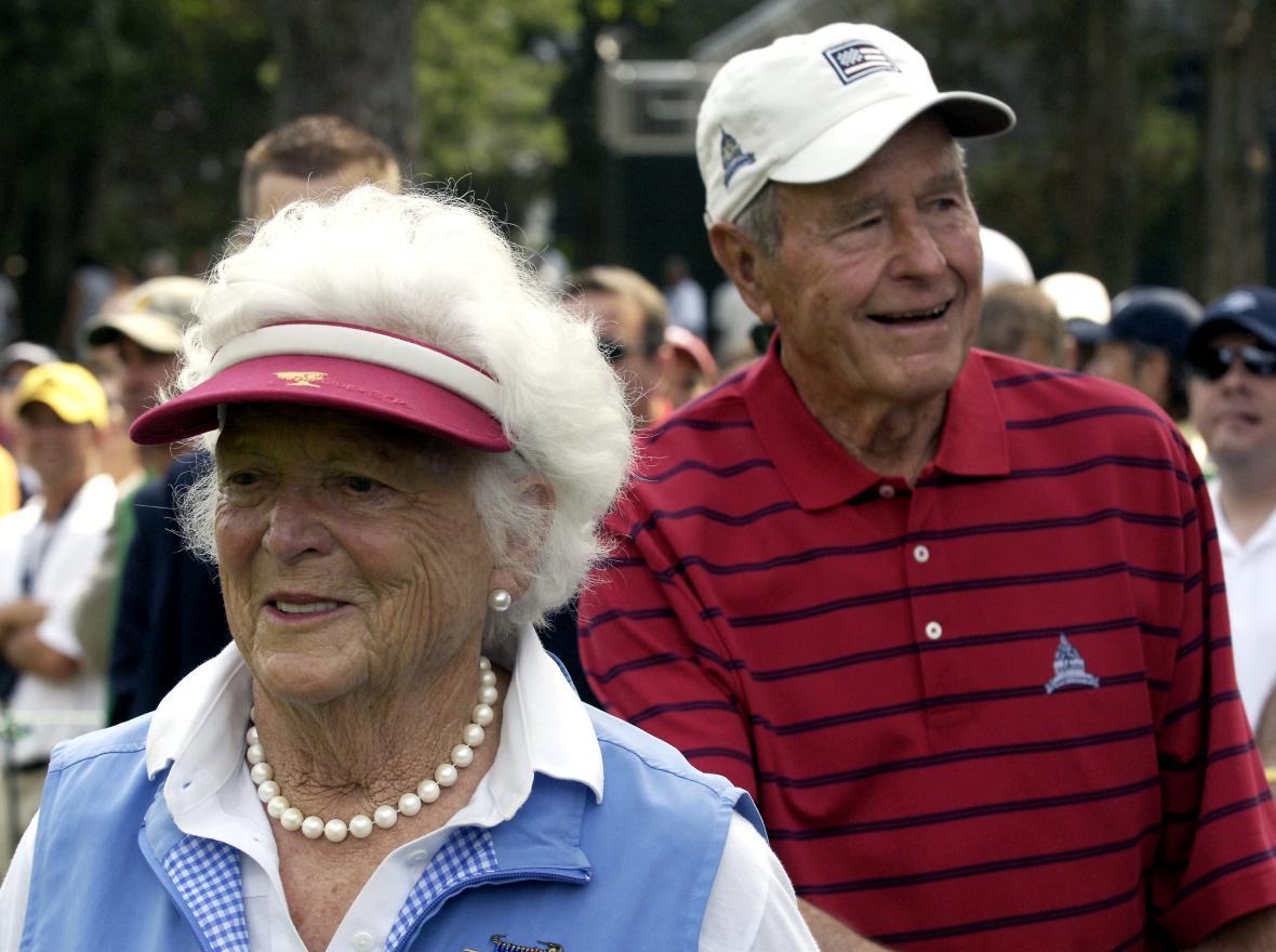 Barbara a George Bushovi