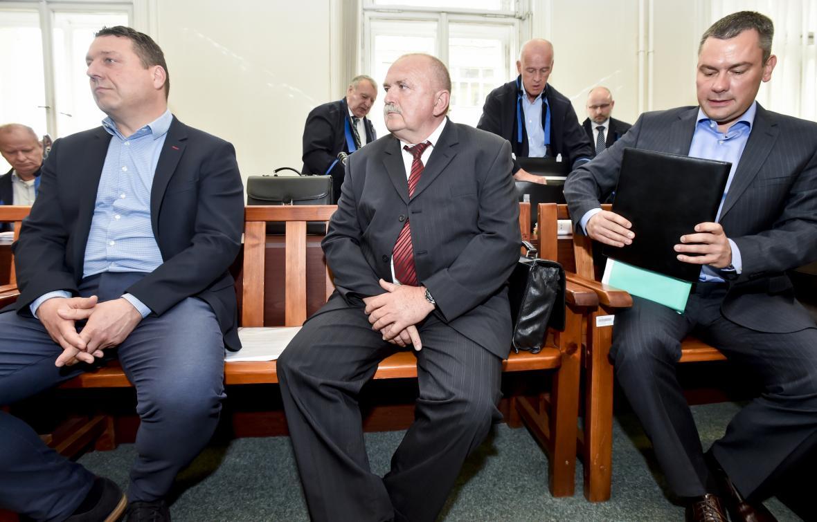Zdeněk Čáp, Josef Kantůrek a David Michal (zleva)