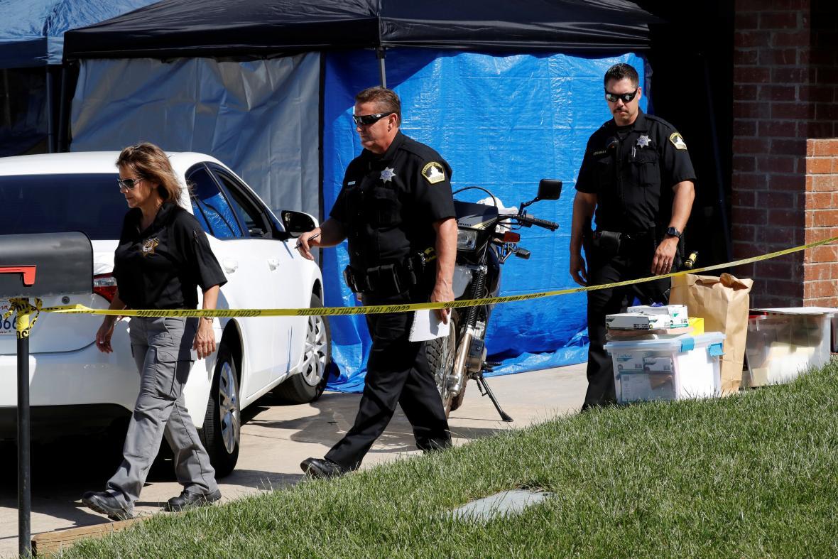 Policie prohledala dům možného sériového vraha ze 70. let
