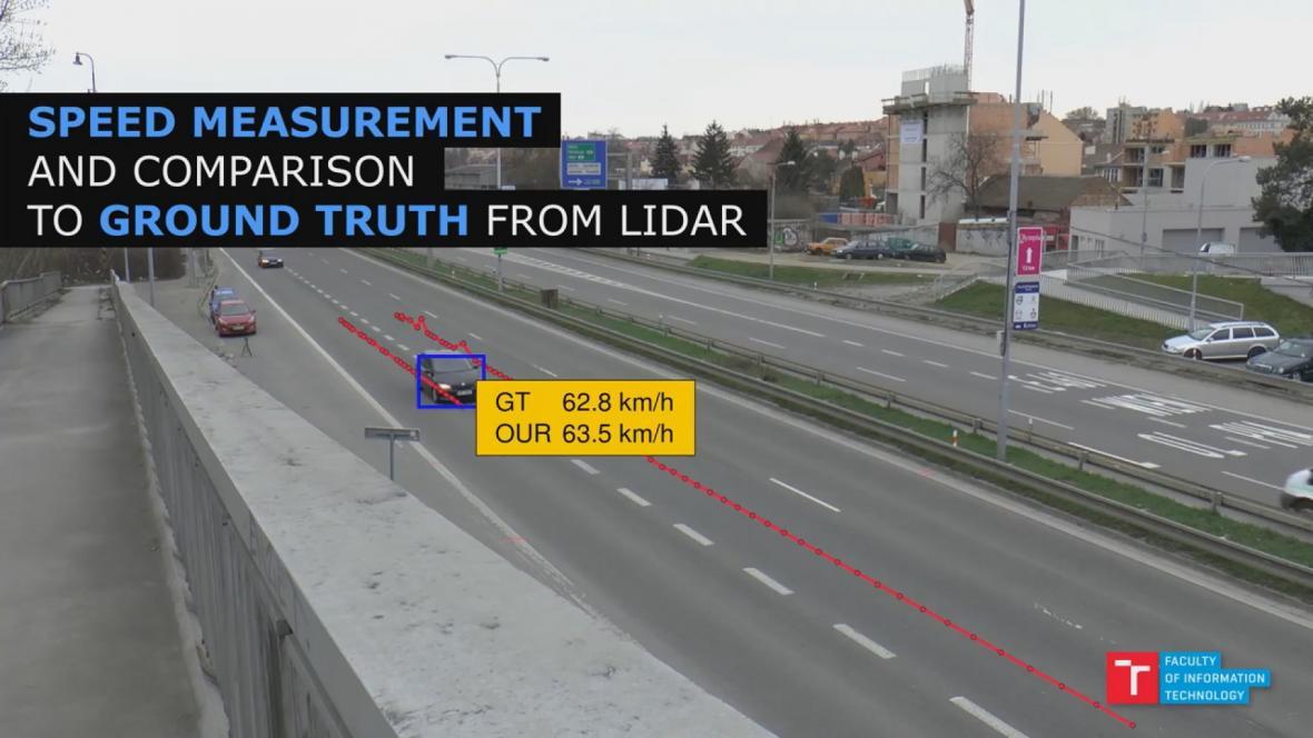 Měření rychlosti auta