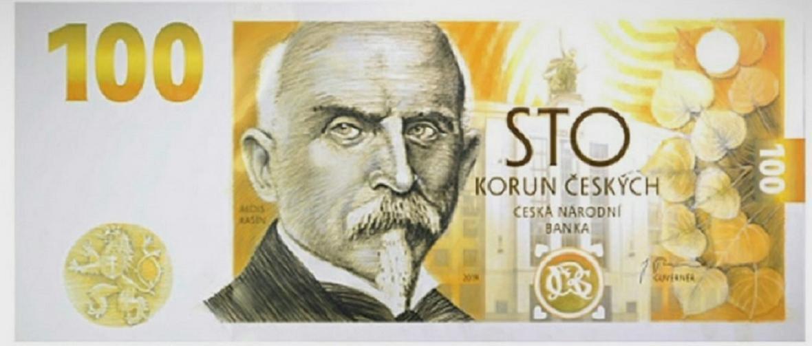 Bankovka s Aloisem Rašínem