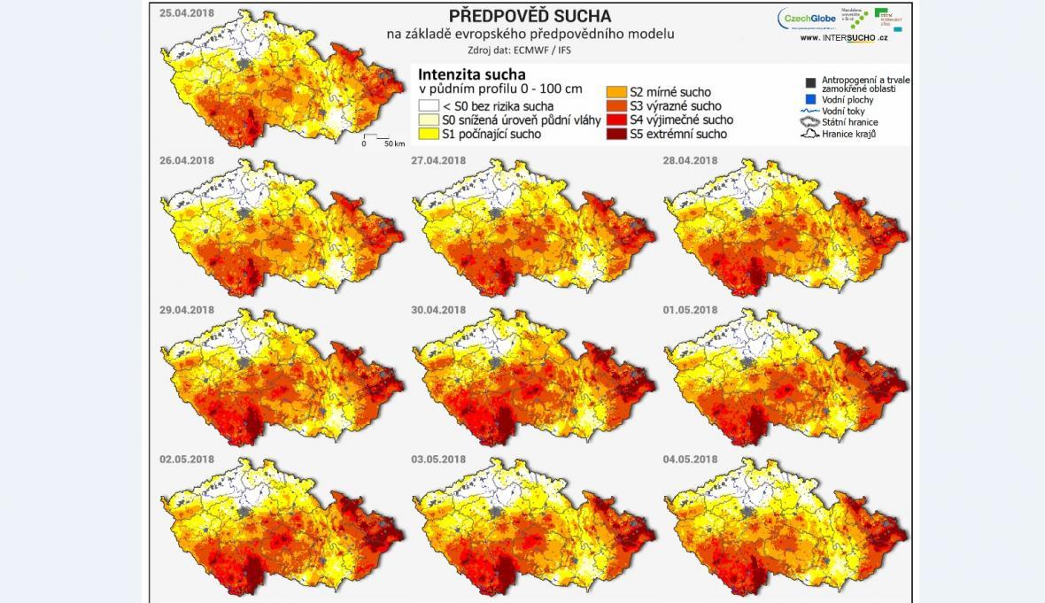 Předpověď sucha
