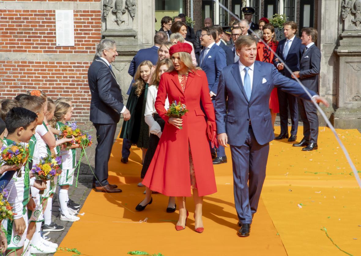 Oslavy Králova dne v Groningenu