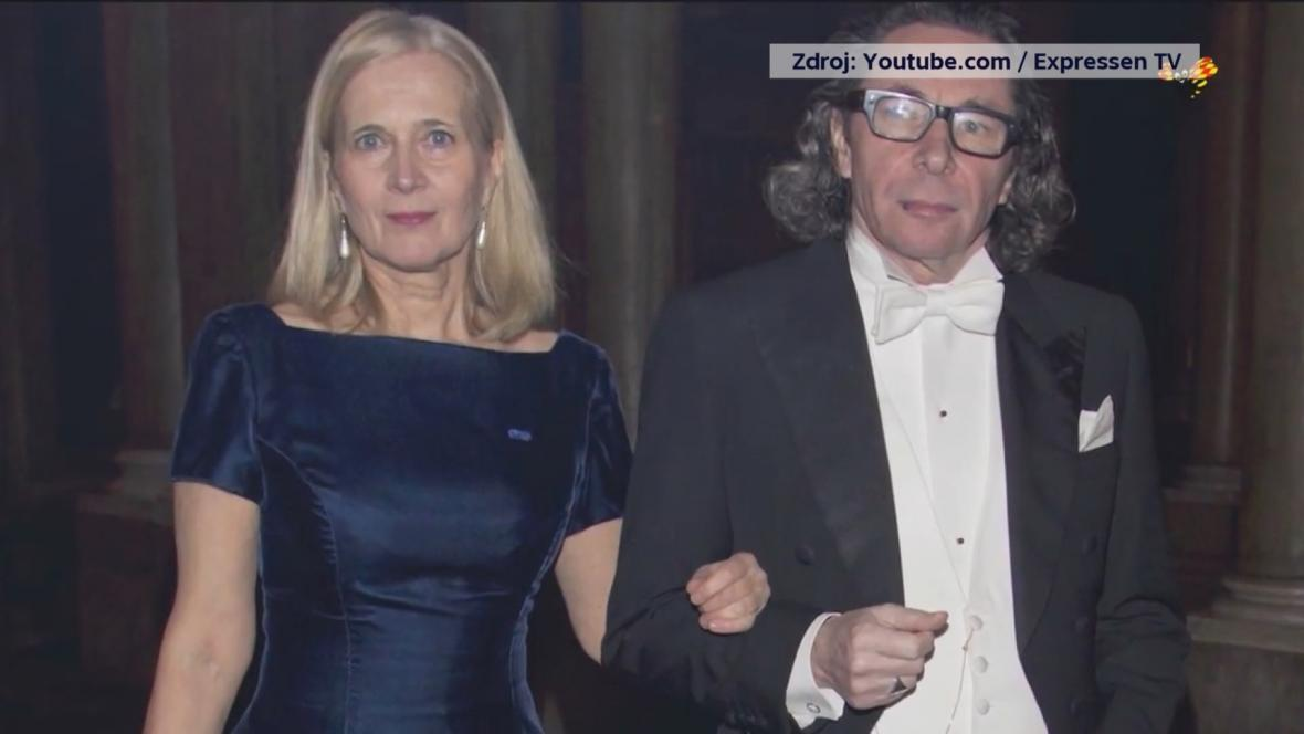 Jean-Claude Arnault s manželkou