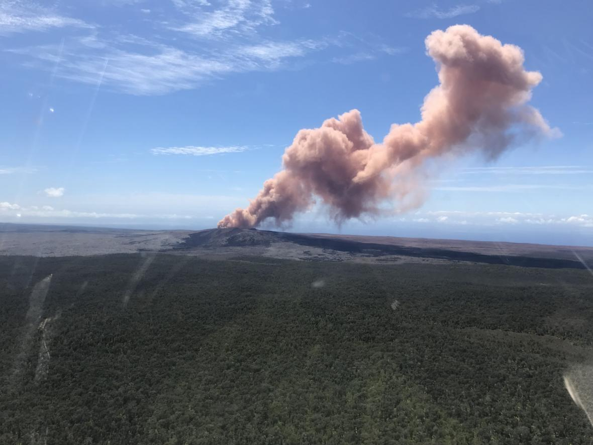 Erupce sopky Kilauea