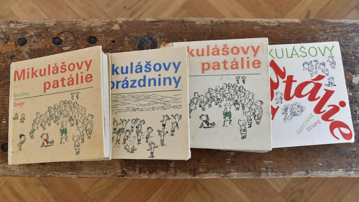 Česká vydání knih o Mikulášovi