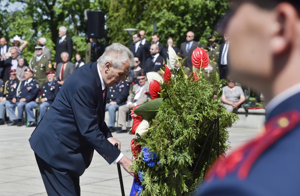 Pieta na Vítkově k výročí konce druhé světové války