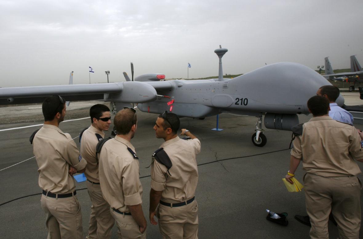 Izraelský dron Eitan