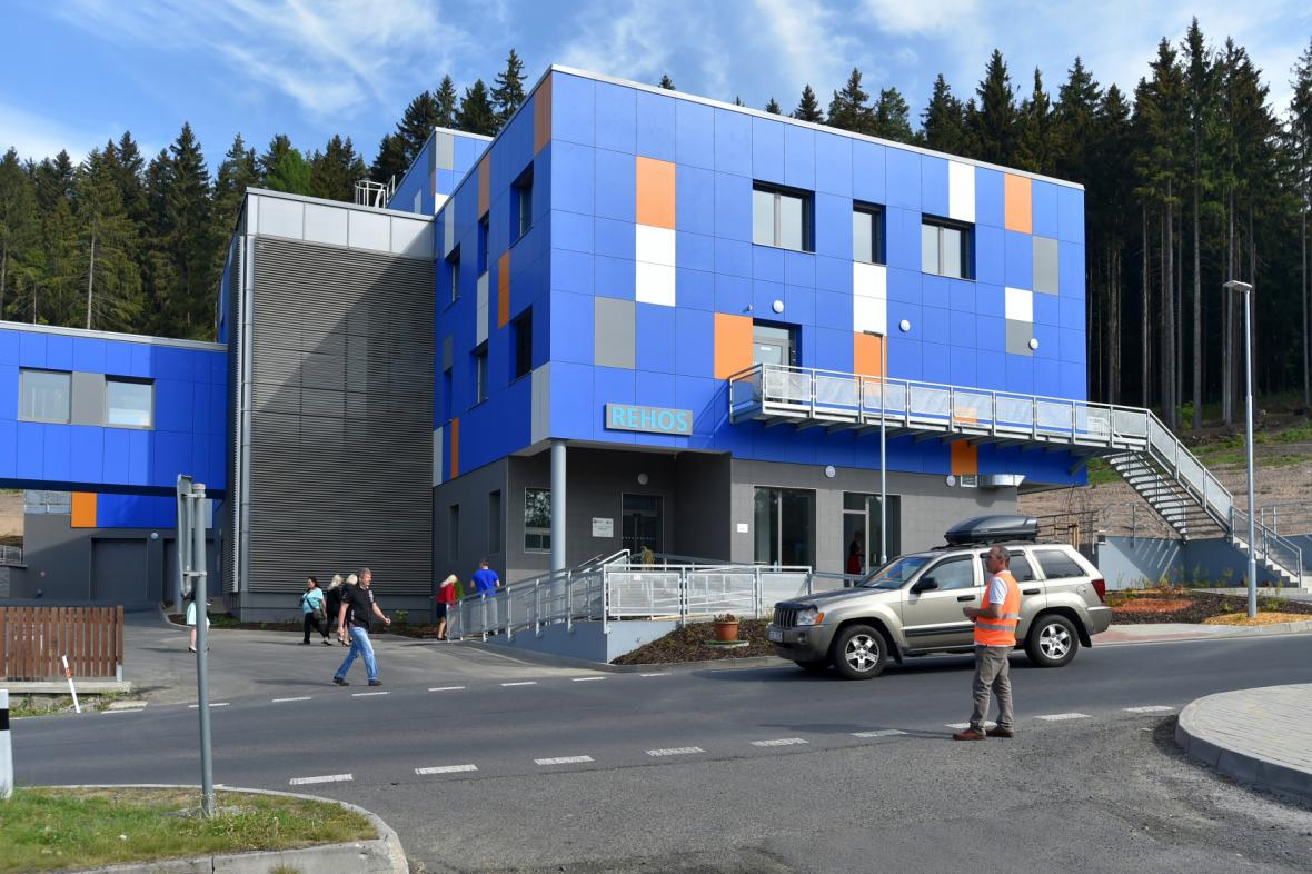 V Nejdku byla dokončena stavba prvního hospice v Karlovarském kraji