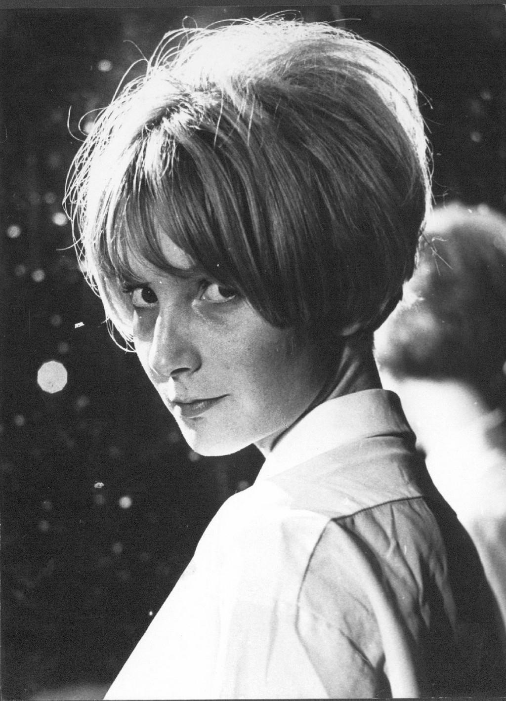 Portrét herečky Daniely Kolářové. Foto: Autor neznámý, 70. léta 20. století, Fotografický fond IDU