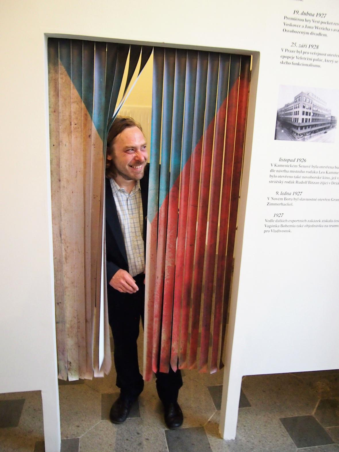 Kurátor výstavy