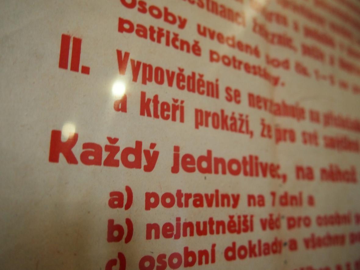 Vernisáž výstavy 100 let ve Vlastivědném muzeu a galerii v České Lípě.