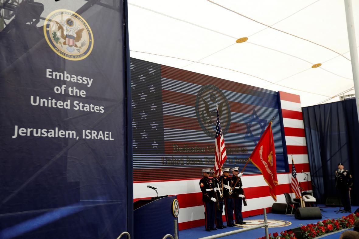 Otevření americké ambasády v Jeruzalémě