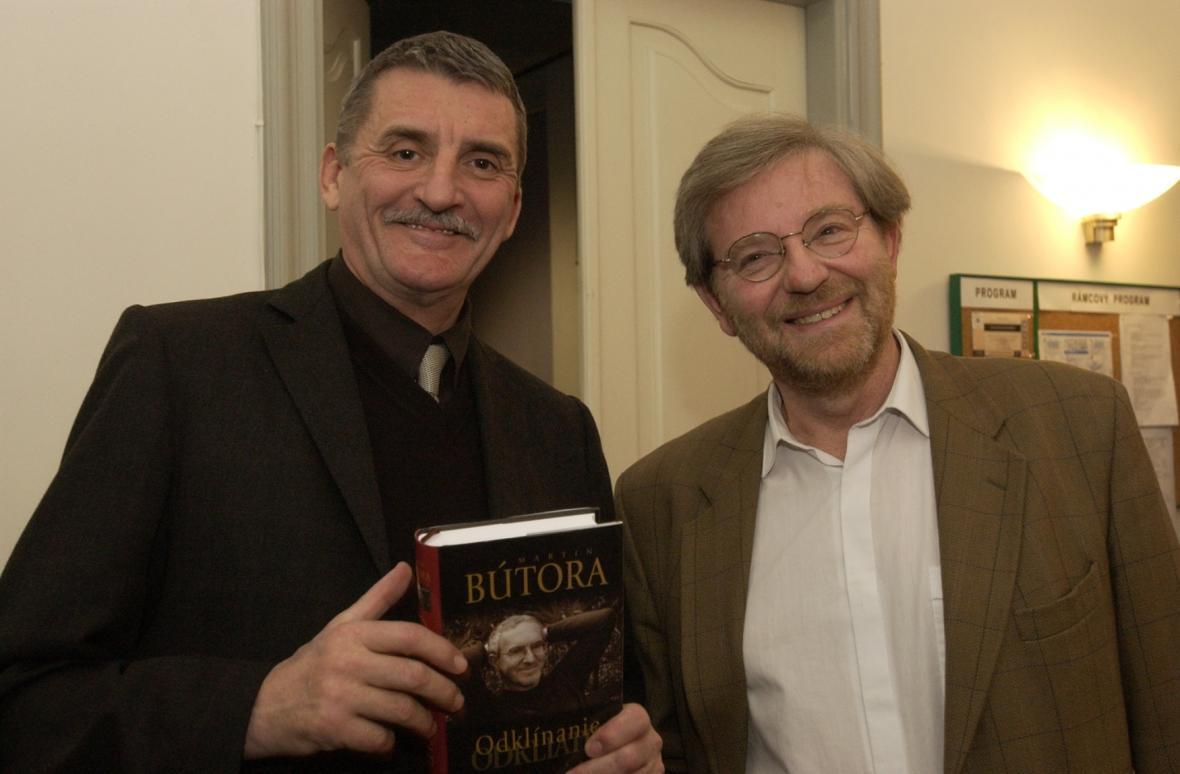 Martin Huba a Martin Porubjak