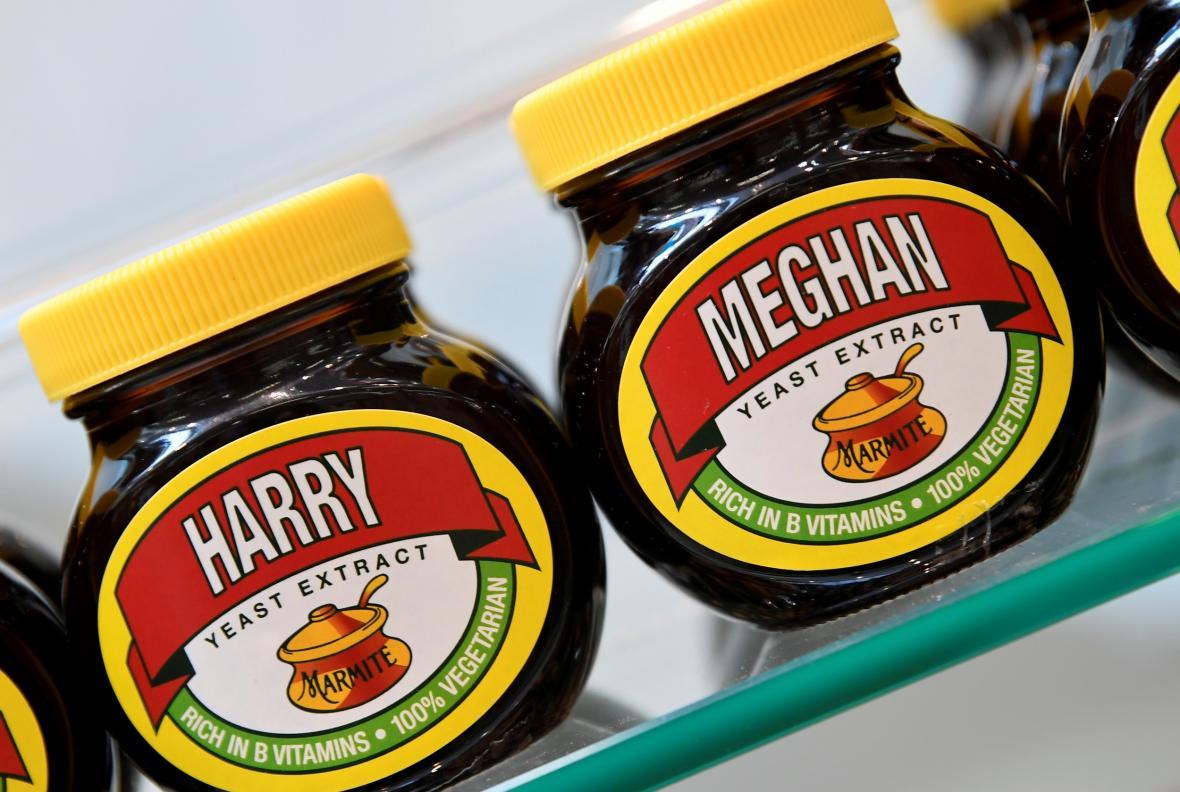 Harry a Meghan tvoří dvojici i na pomazánkách marmite