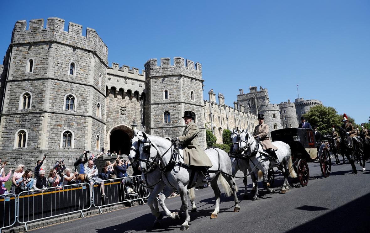 Ve čtvrtek proběhl ve Windsoru nácvik svatebního průvodu