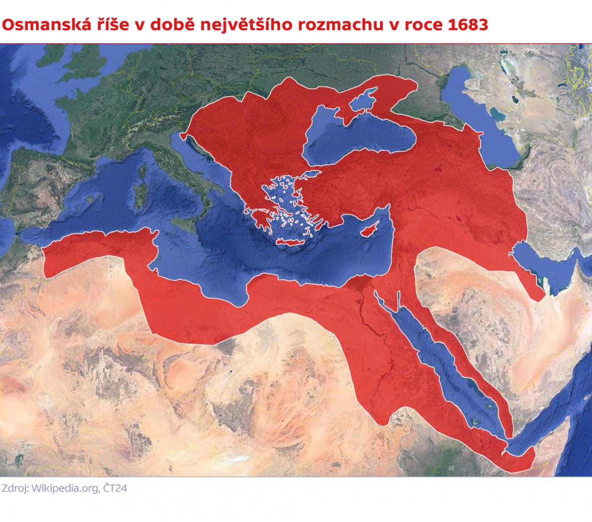 Osmanská říše v největším rozmachu