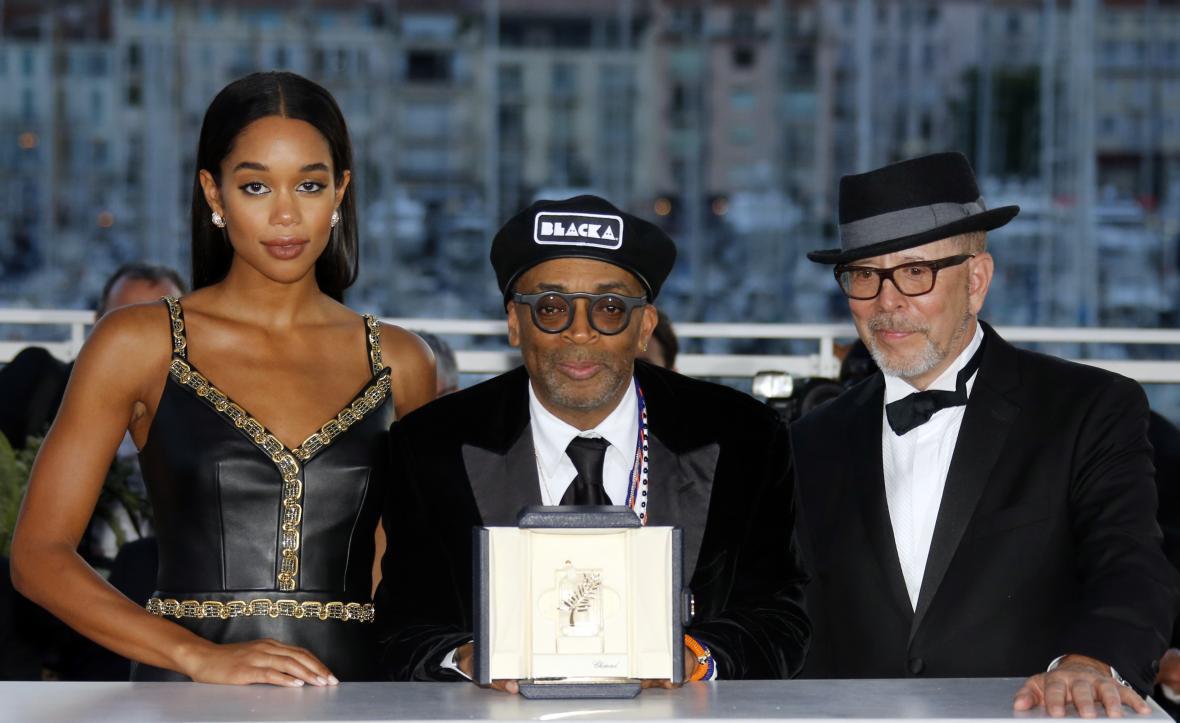 """Režisér Spike Lee, vítěz ceny Grand Prix s dilmem """"BlacKkKlansman"""""""