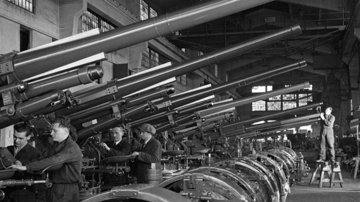 Dělníci v Plzni zpracovali pro Třetí říši tisíce tun oceli