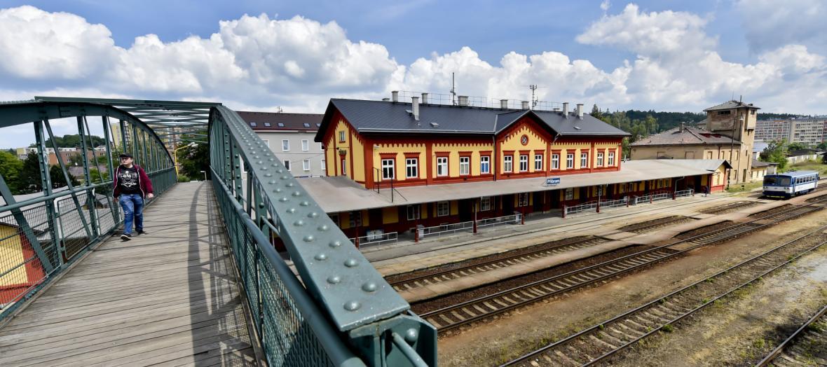 Příbramské nádraží
