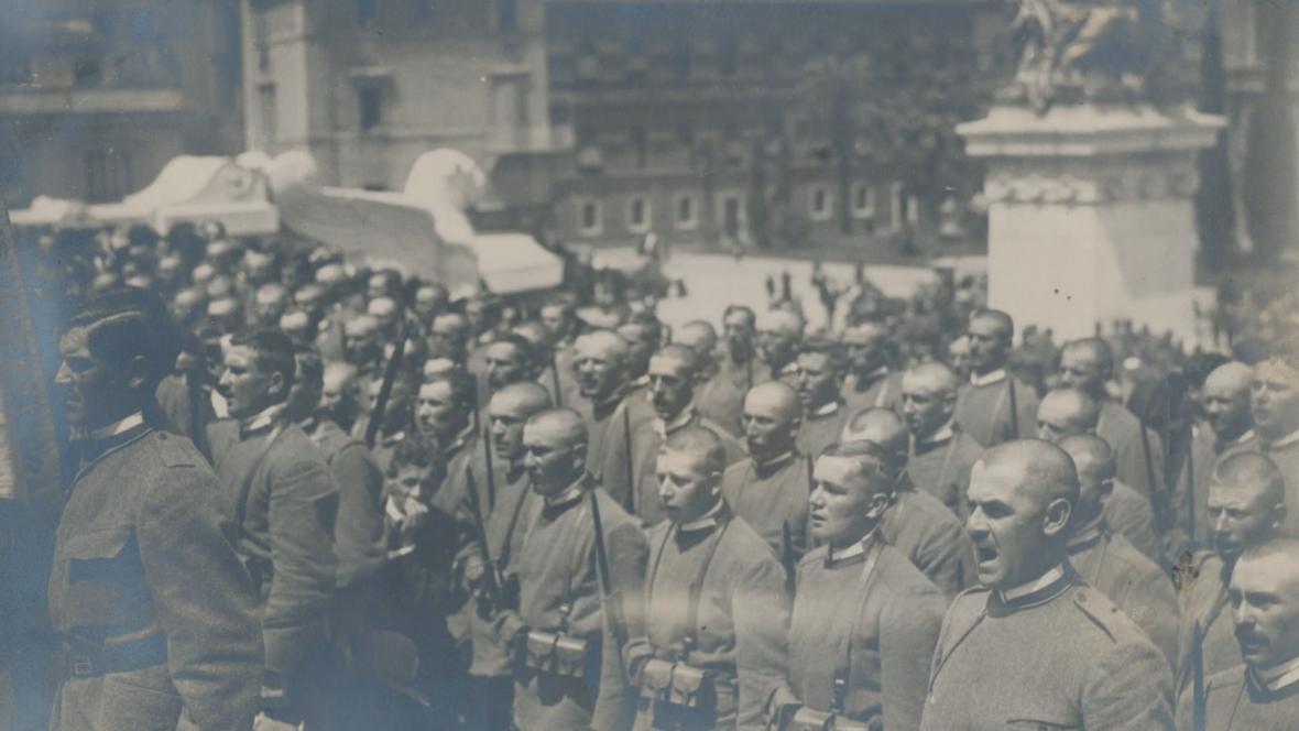 Československé legie v Římě
