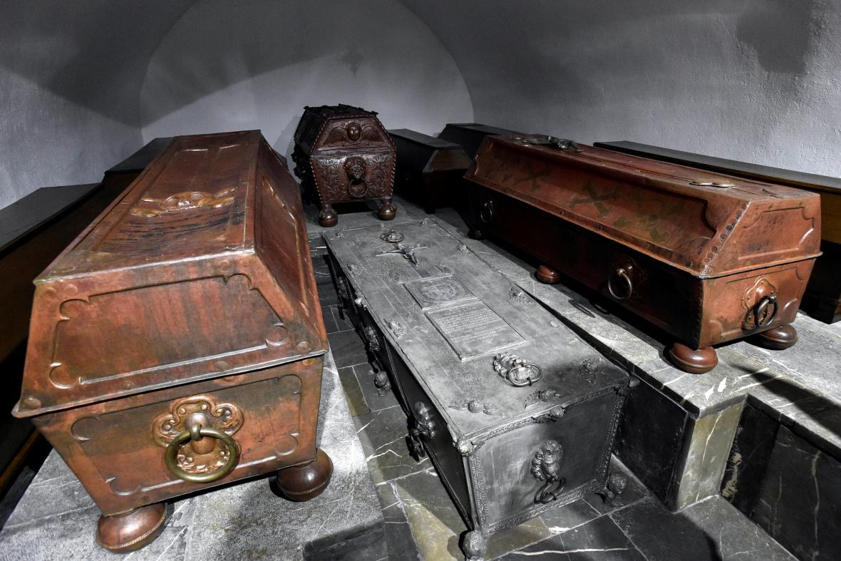 Hrobka rodu Lichtenštejnů ve Vranově u Brna