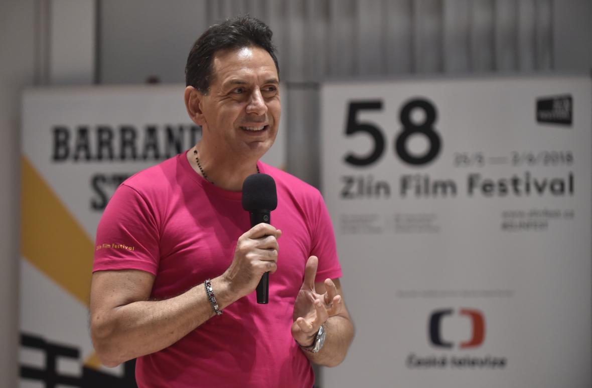 Andrea Morricone na 58. ročníku mezinárodního filmového festivalu pro děti a mládež ve Zlíně