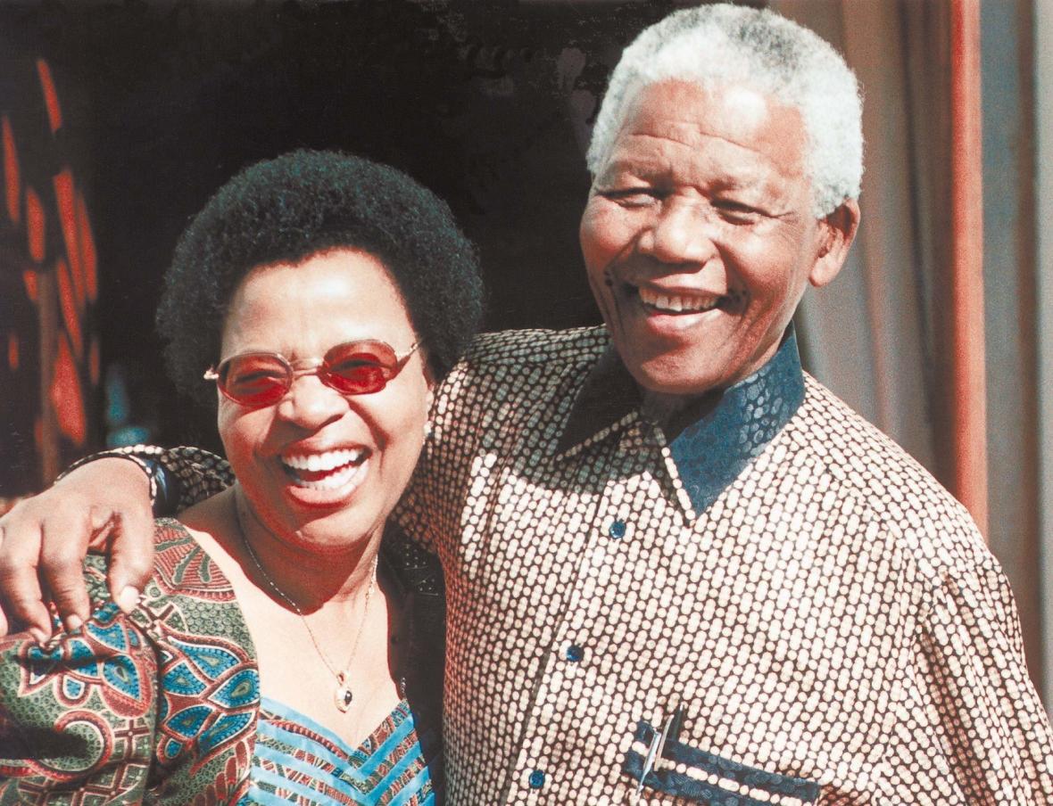 Mandela a jeho poslední žena Graça Machel