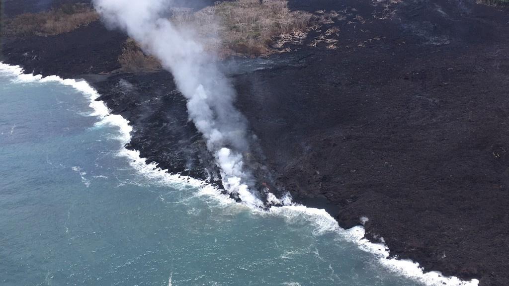 Letecký snímek Havaje