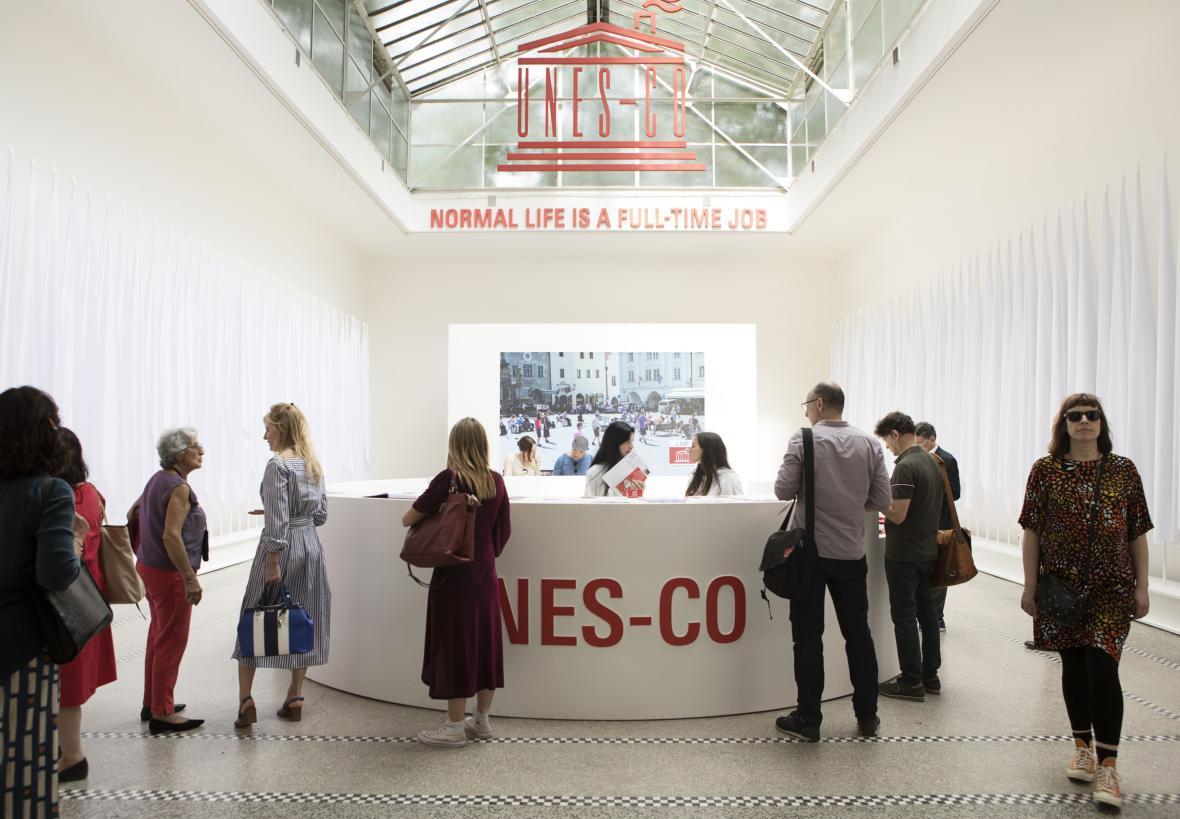 Český pavilon na bienále architektury v Benátkách 2018