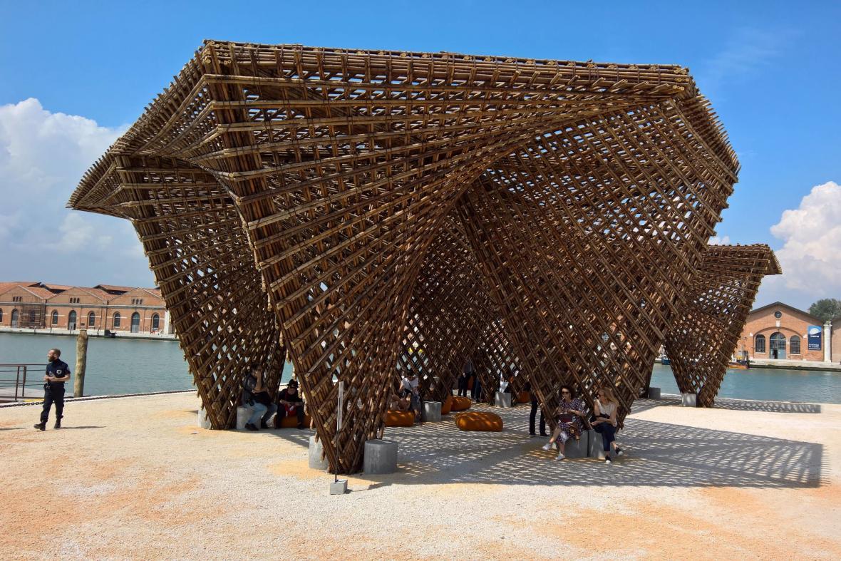 Vietnamský pavilon na bienále architektury v Benátkách 2018
