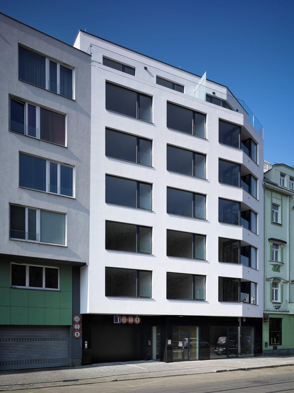 Bytový dům Nuselská v Praze (ABM architekti s.r.o.)