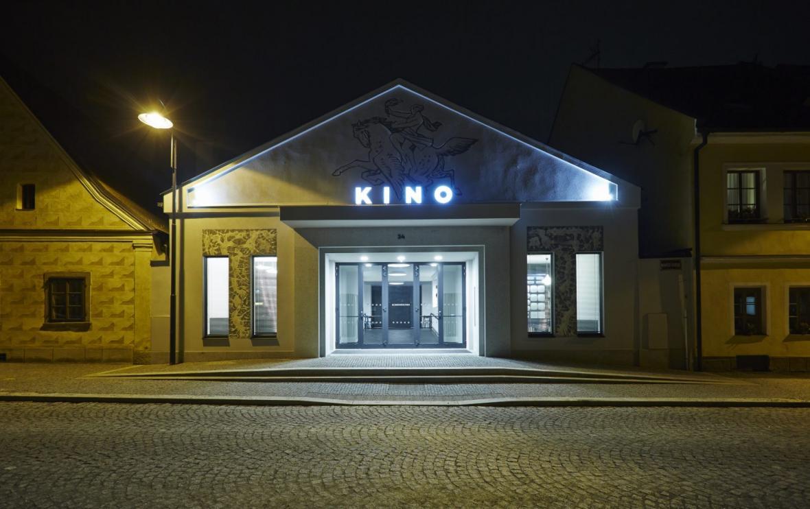 Kinonekino v Plané (XTOPIX architekti s.r.o.; Ing. arch. Simona Ledvinková)