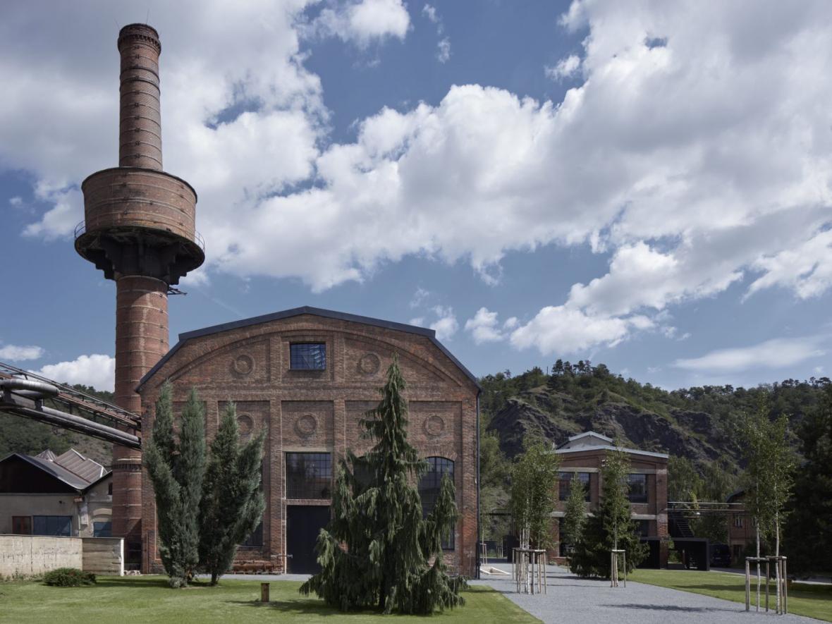 Konverze kotelny v Libčicích nad Vltavou ( Atelier Hoffman)