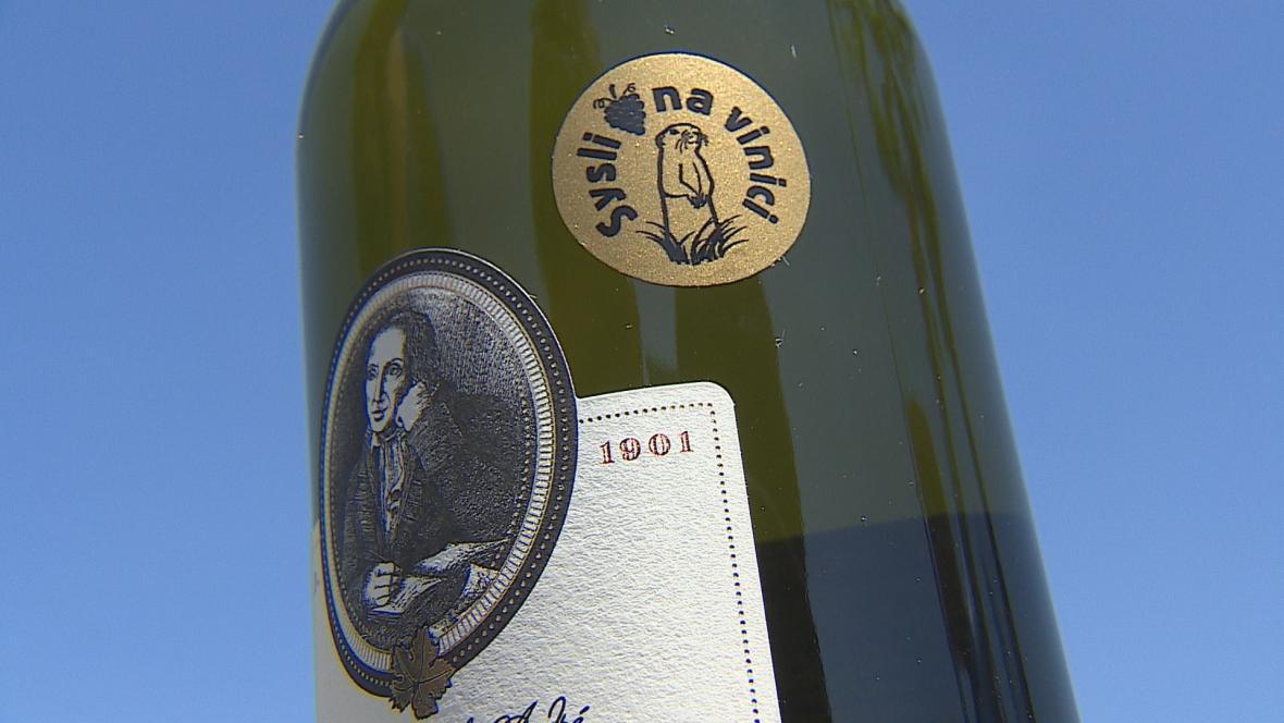 Známka Sysli na vinici