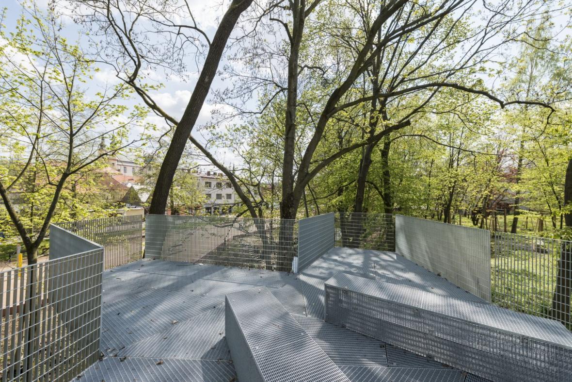 Obnova nábřeží řeky Loučné v Litomyšli (Rusina Frei architekti)