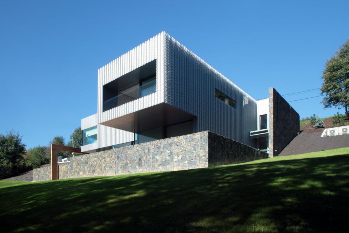 Vila v Beskydech (TREF-Architekti)