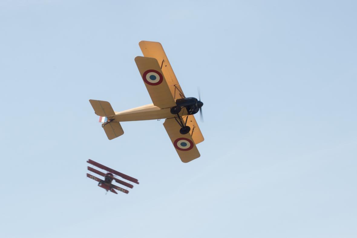 Na snímku je letoun Morane BB.