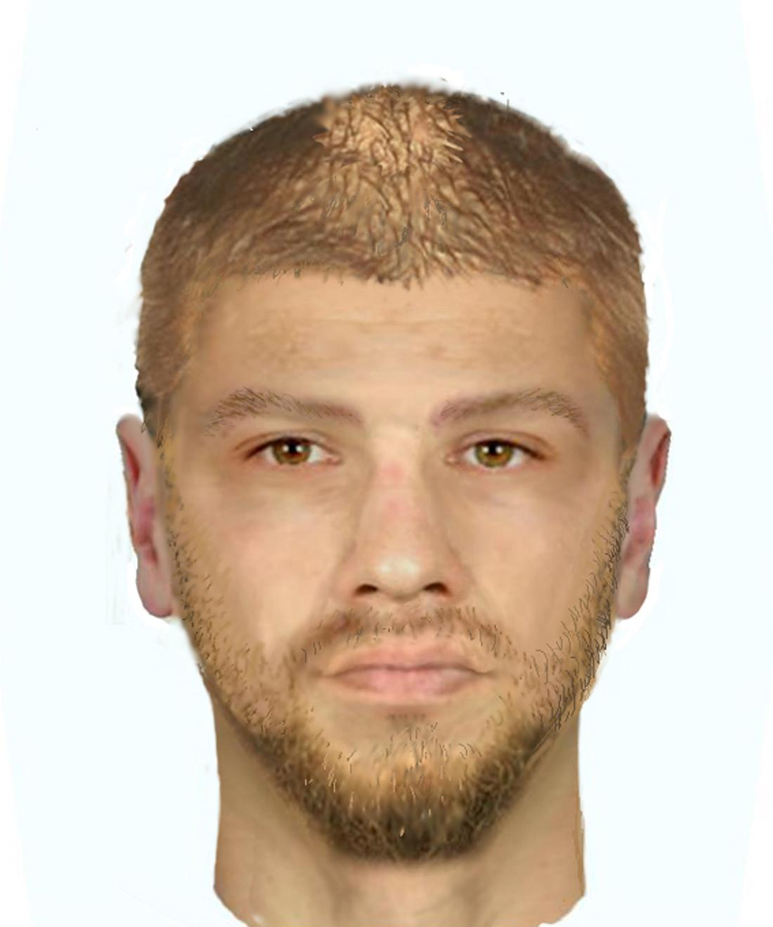 Hledaný muž, který v pražských Letňanech napadl cyklistu.